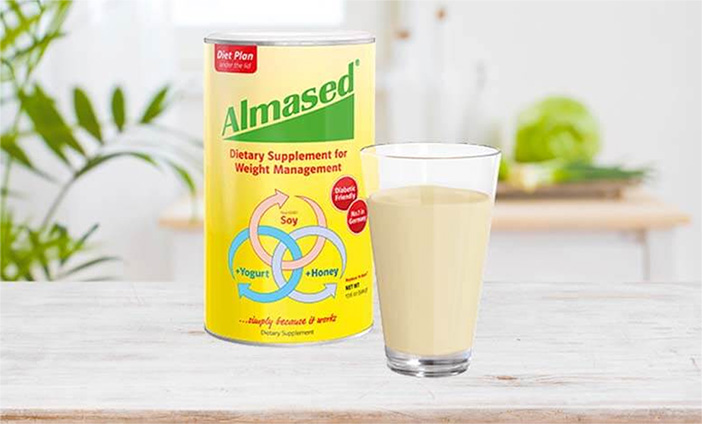 Almased Can and Smoothie