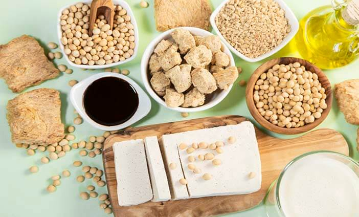 Different Types of Soy food options