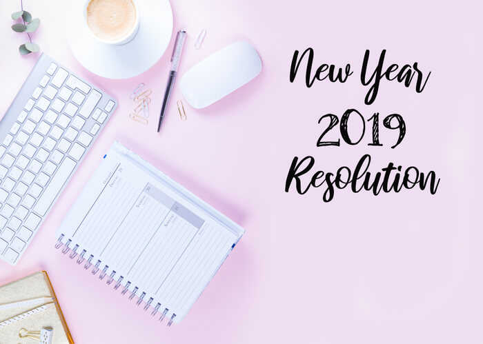 New Year resolution 2019